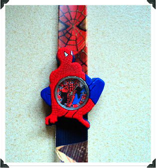 22cm. Spiderman Slap Watch W14 Image