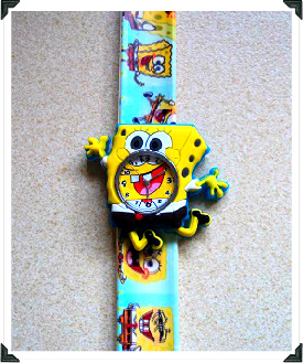 SpongeBob SquarePants Slap Watch W13 Image