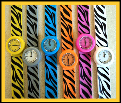 22cm Zebra Slap Watches W54 Image