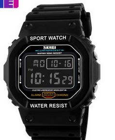 SKMEI Waterproof Digital Oblong Image