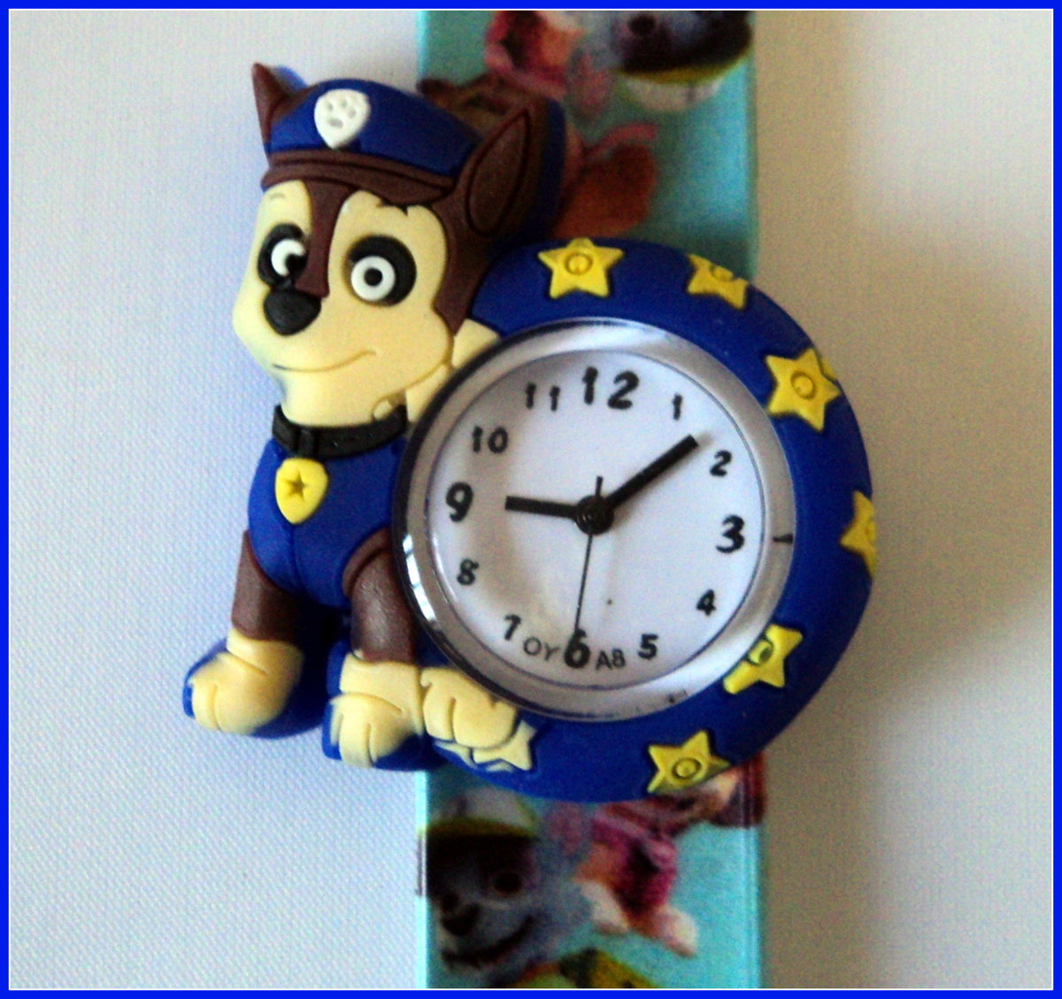 Paw Patrol - Chase - Slap Watches Image
