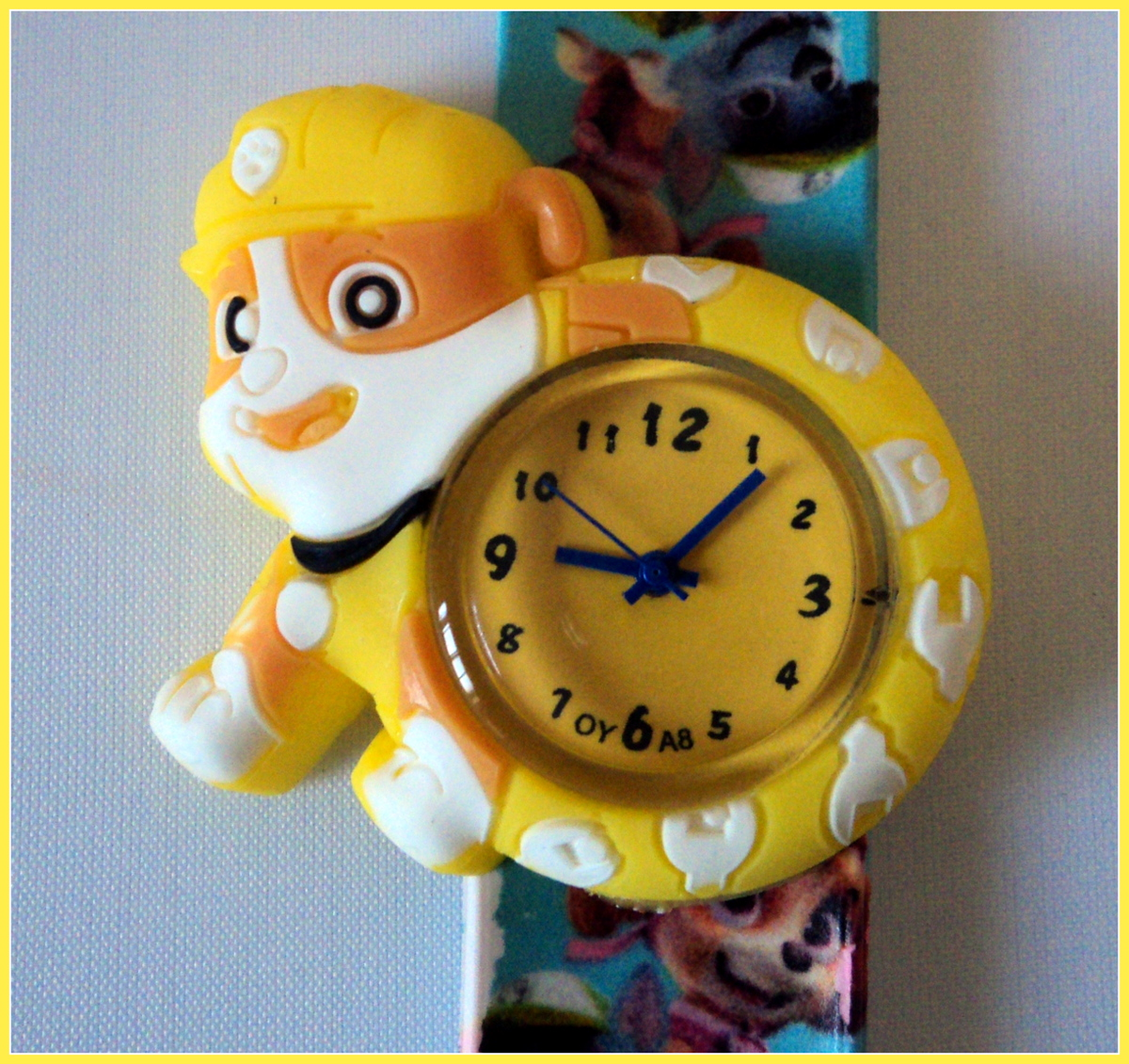 Paw Patrol - Rubble - Slap Watches Image