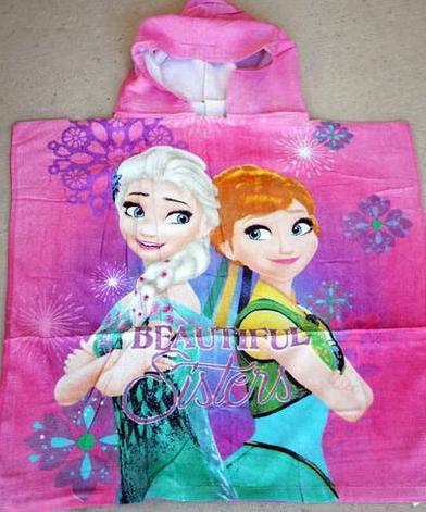 Hooded Towel - Frozen 1 Image