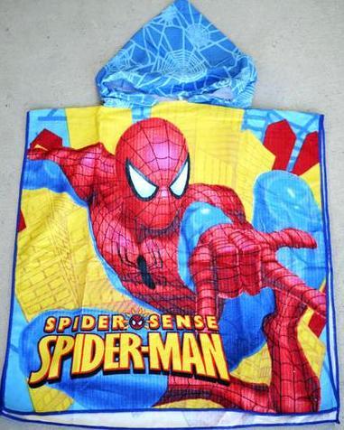 Hooded Towel - Spider Man 2 Image