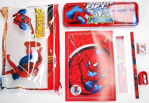 Spider Man 7 piece set Image