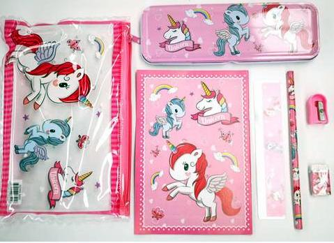 Unicorn 7 piece set Image