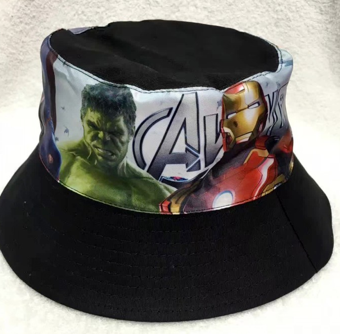 Avengers - Bucket Hat - Black Image