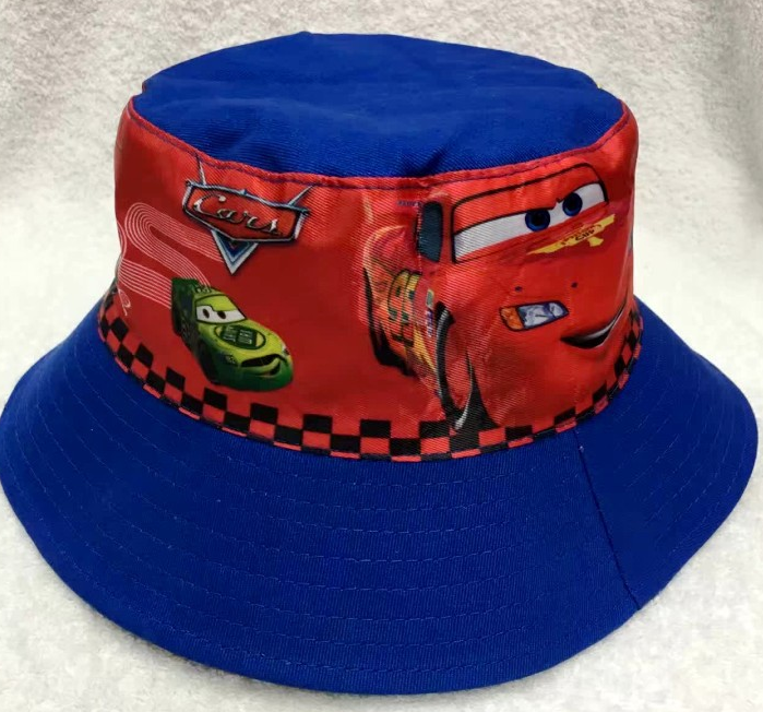 Bucket Hat - Cars - Blue Image