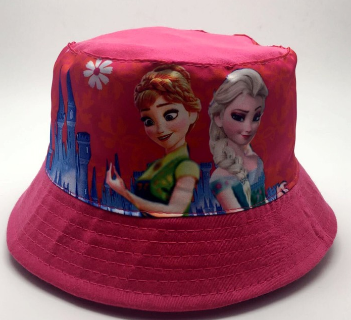 Bucket Hat - Frozen Double - Pink Image