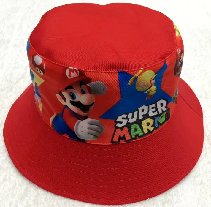 Bucket Hat - Super Mario - Red Image
