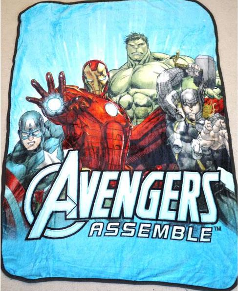 Blanket - Avengers Image