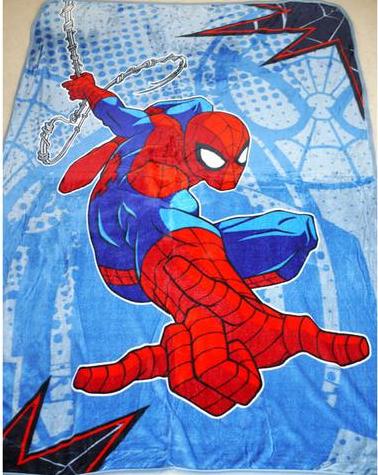 Blanket Large - Spider Man Image