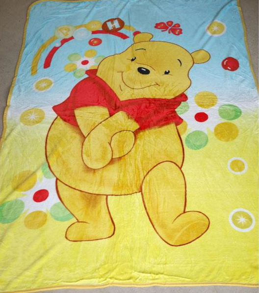 Blanket Large - Winnie the Pooh Image
