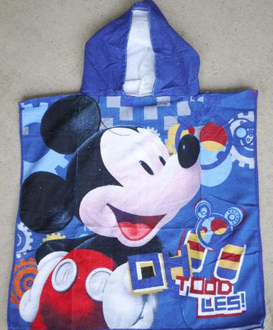 Hooded Towel - Mickey - Toodles Image