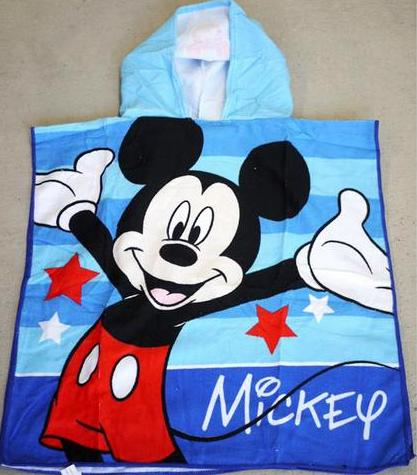 Hooded Towel - Mickey Image