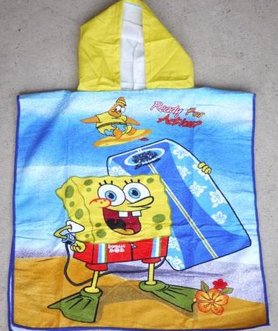 Hooded Towel - SpongeBob SquarePants Image