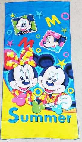 Towel - Mickey & Minnie Image