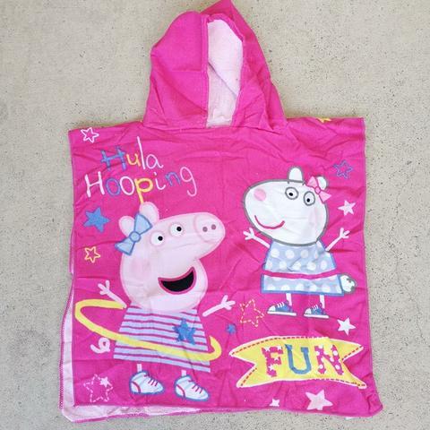 Hooded Towel - Peppa Pig 2 Image