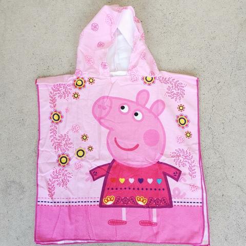 Hooded Towel - Peppa Pig Image