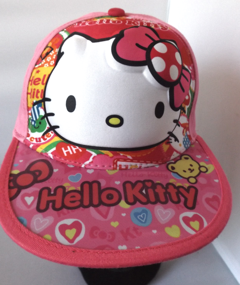 3D Cap - Hello Kitty Image
