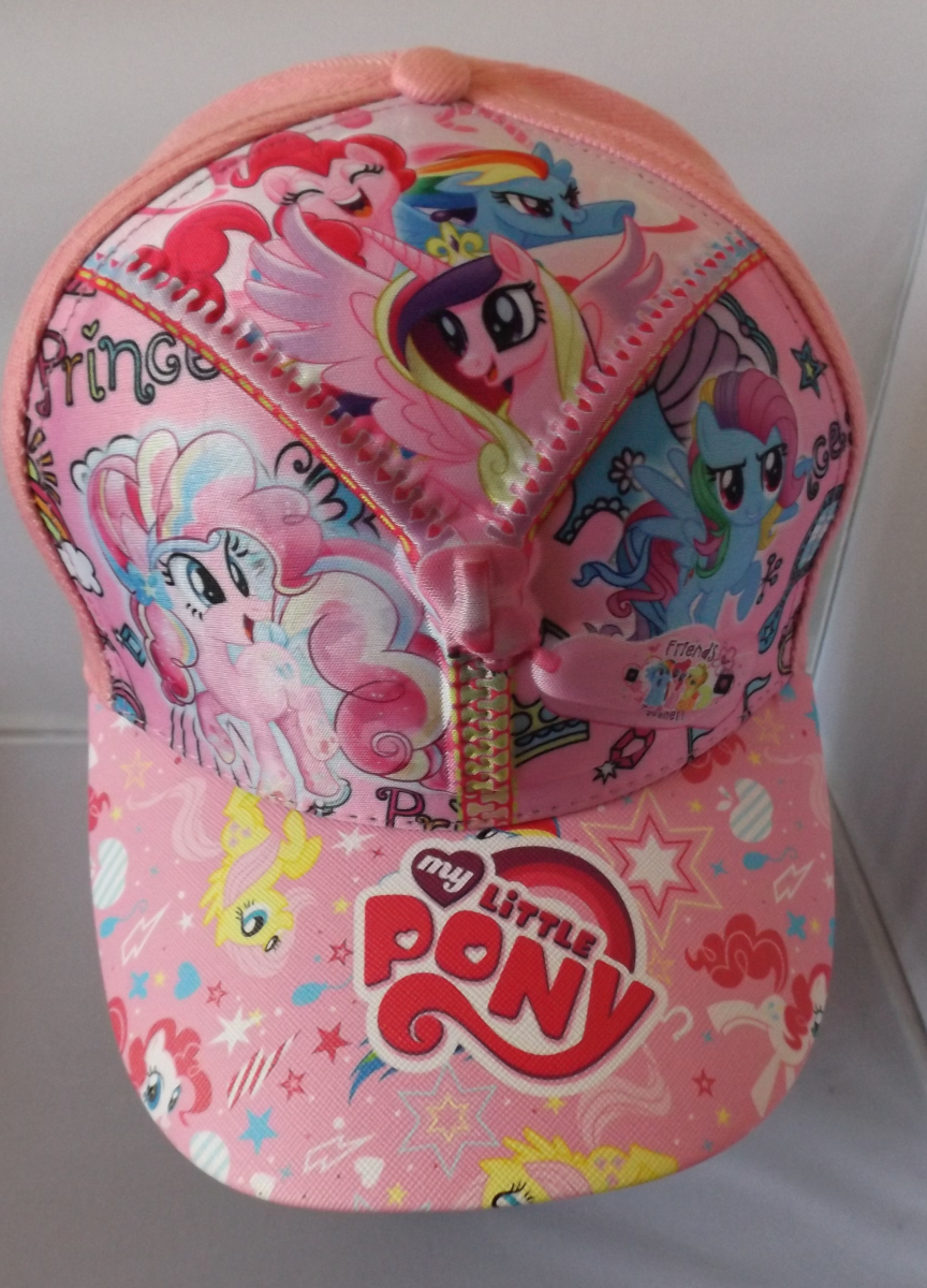 3D Zip Cap - My Little Pony Image