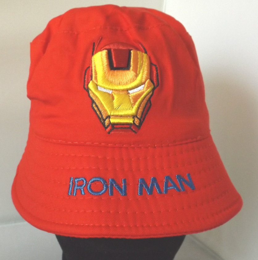 Bucket Hat - Iron Man - Red Image