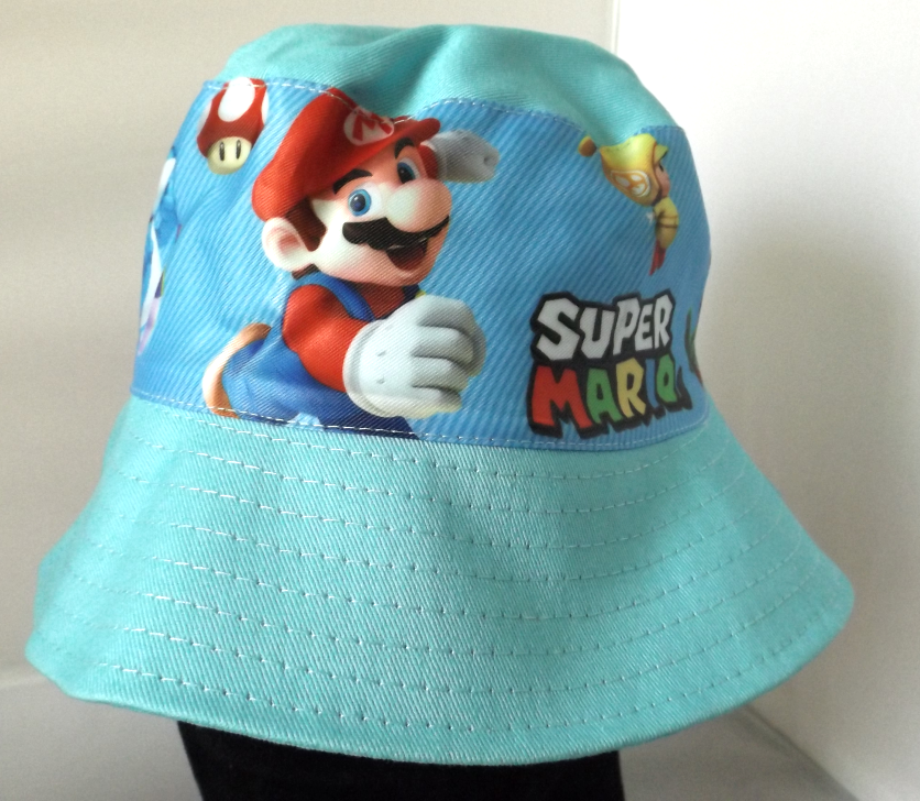 Bucket Hat - Super Mario - Light Blue Image