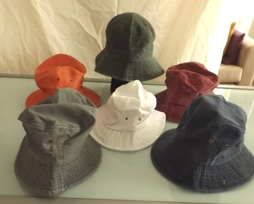 Adult Bucket Hat - Denim Stud Range Image