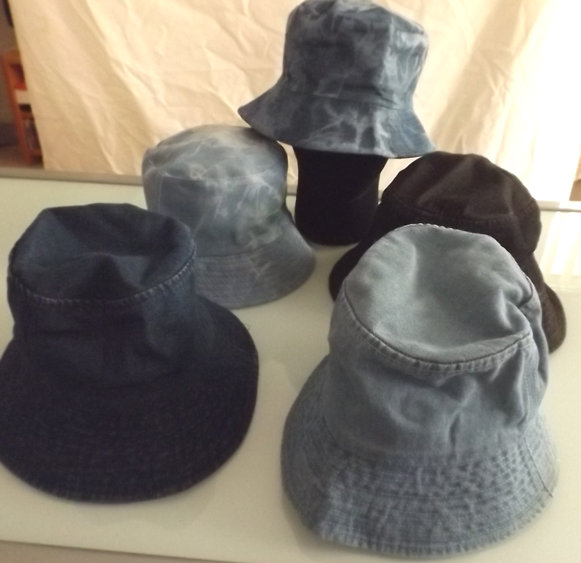 Adult Bucket Hat - Denim Range Image
