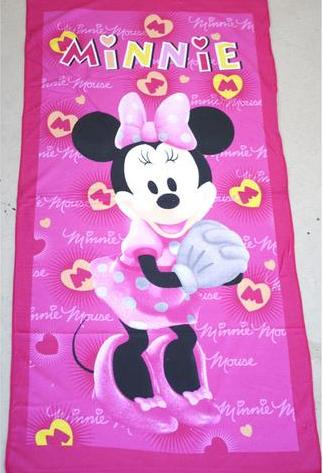 Flat Towel - Minnie Image