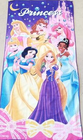 Flat Towel - Princess Image