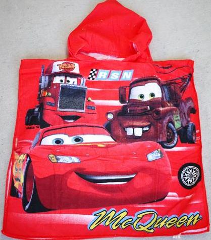 Hooded Towel - Lightning McQueen Image