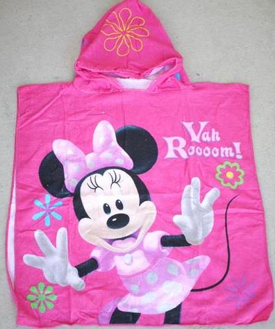 Hooded Towel - Minnie Image