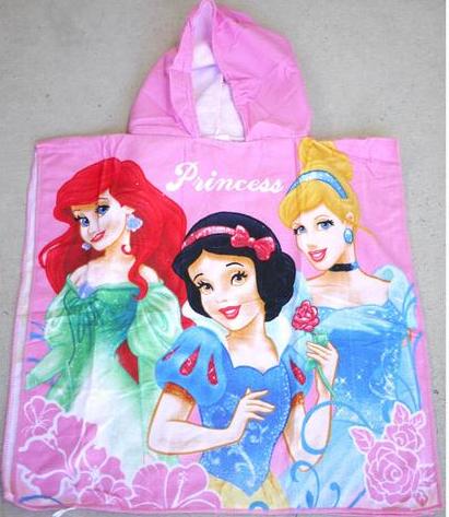 Hooded Towel - Princess Image