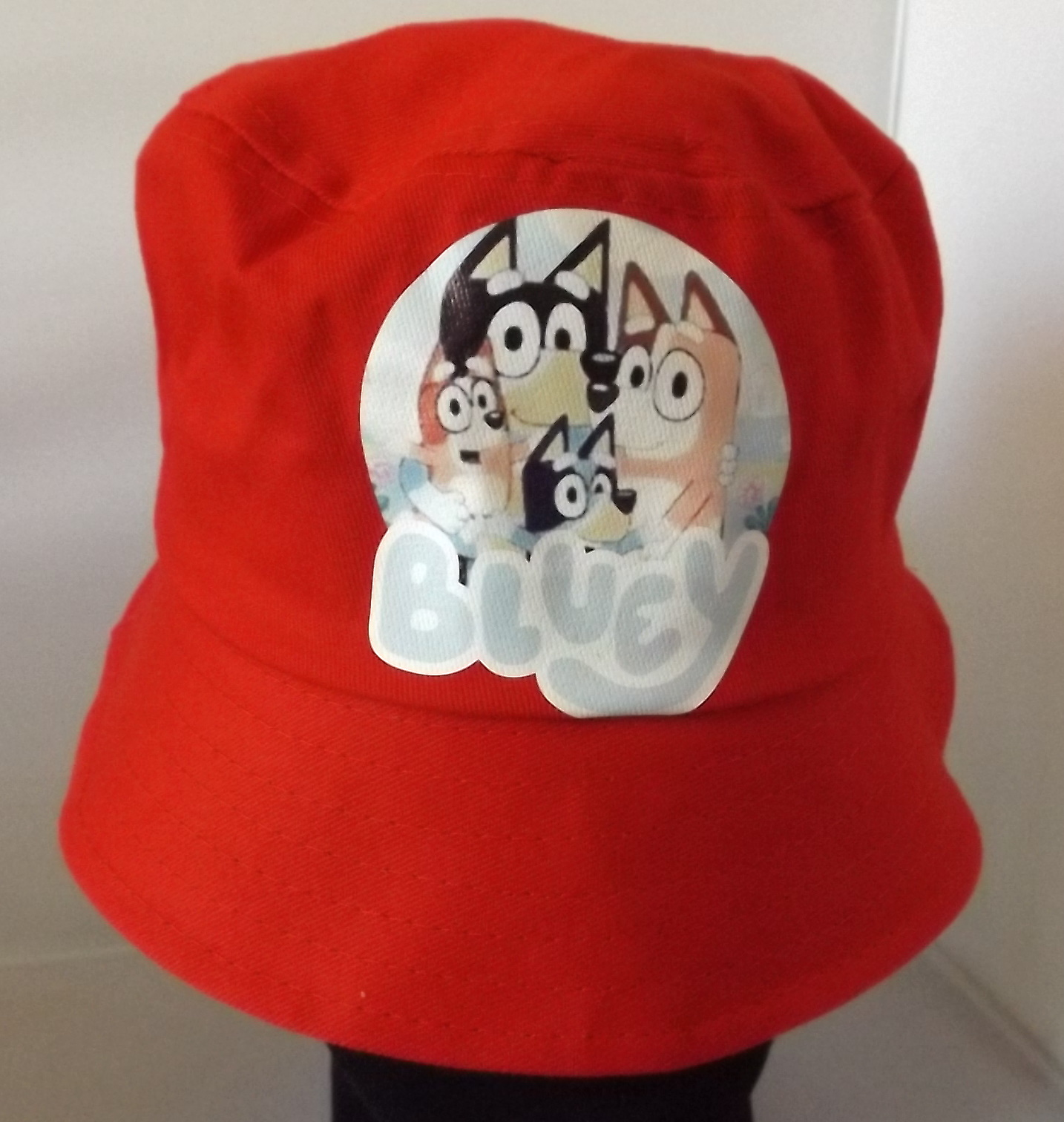Bucket Hat - Bluey - Red Image