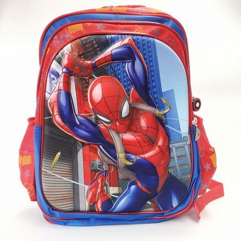 Large 3D Back Pack - Spider Man Image
