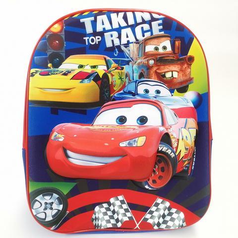 3D Back Pack - Cars Image