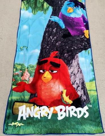 Flat Towel - Angry Birds Image