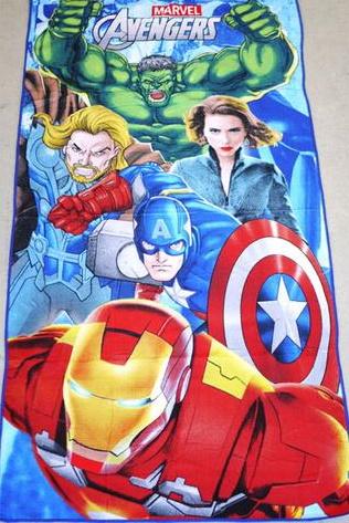 Flat Towel - Avengers Image