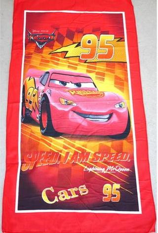Flat Towel - Cars Image