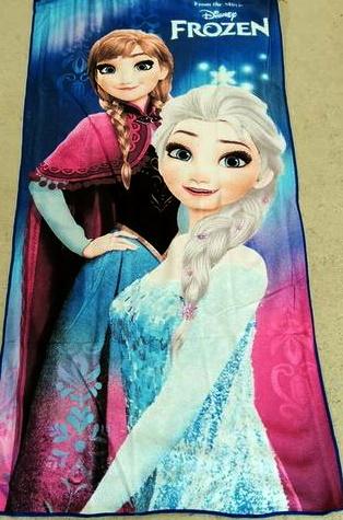 Flat Towel - Frozen 1 Image