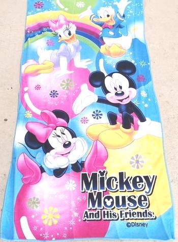 Flat Towel - Mickey Image