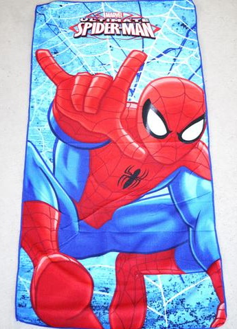 Flat Towel - Spider Man Image