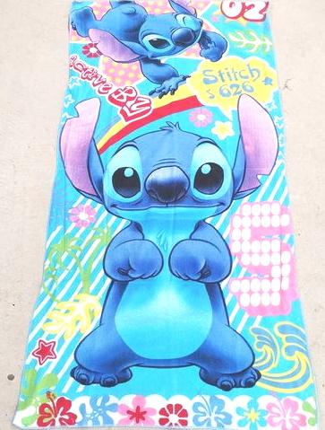 Flat Towel - Stitch Image