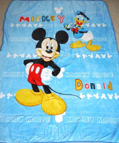 Blanket - Large - Mickey Image