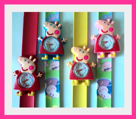 22cm Peppa Pig Slap Watches W5 Image