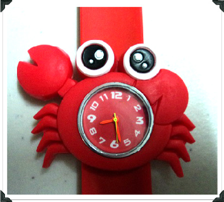 22cm Red Crab Slap Watches W9 Image